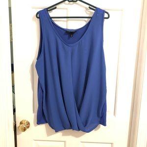 Lane Bryant royal blue shirt
